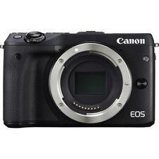 Canon EOS M3 Mirrorless Digital Camera Body Only, Black