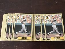 1987 Topps Barry Bonds Pittsburgh Pirates #320 Rookie Lot Of 4 Rookies NM/MT