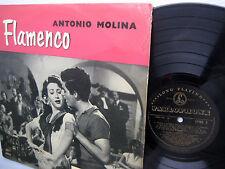ANTONIO MOLINA Flamenco original U.K Parlophone LP CPMC 1 50's foldover jacket c