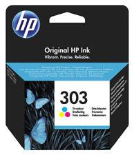 1x Original HP 303 color Tinte Patrone Envy Photo 6220 6230 6255 7134 7155 7855