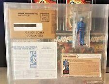 1982 HASBRO GI JOE COBRA COMMANDER MICKEY MOUSE 1st LOGO - AFA U90