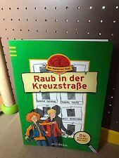 Lernbuch Der Ratekrimi Klub Raub in der Kreuzstraße