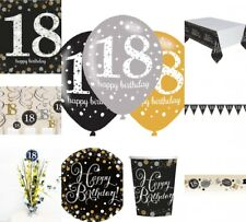 18. Geburtstag Dekoration mit der Zahl 18 Deko runder Geburtstag Party Tischdeko