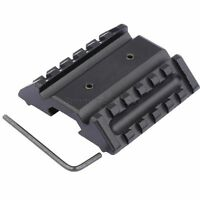 Tactical 45 Degree Offset Side Mount Low Profile for Picatinny 20mm Rail Base