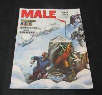 1954 Male Magazine Men's Adventure, Sex Questions, Bullfighting, Rocky Graziano