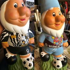 Personalised Hand painted Football Garden Gnome Christmas Gift Idea