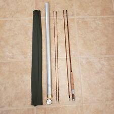 Orvis Battenkill Fly Rod 1961 Aluminum Case Dark Green Sleeve, All Labels