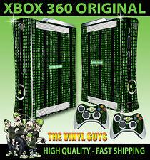 XBOX 360 STICKER MATRIX CODE SYSTEM FAILURE SKIN & 2 X CONTROLLER PAD SKINS