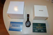 Orologio SEIKO Prospex Land GMT Cinetico black bracciale nero - NUOVO! Ribasso!