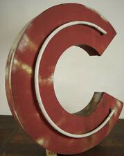 XXL Metal Letter C Vintage Neonbuchstabe Leuchtbuchstabe Neon Sign Neon