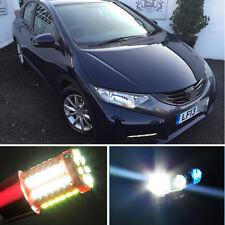2High Quality For Honda Civic White LED Side Light Beam Bulb Canbus Parking Beam