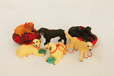 Vintage Pet Dog Themed Christmas Ornament Holiday Tree Decoration