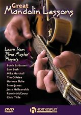 Great Mandolin Lessons Learn from Nine Master Players Dvd New 000642104