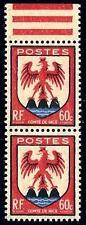 VARIÉTÉ -N°758 ( timbre inférieur plus petit tenant au normal) Neufs **
