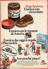 Pubblicità Advertising PLASMON 1979 Ergo spalma regala Playmobil