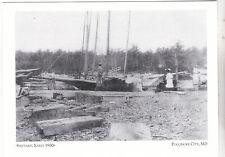 """The Shipyard"" ...early 1900's- ... *Pocomoke City, MD ('Postcard'#146)"