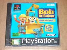 JEU PS1 / BOB LE BRICOLEUR / NEUF SOUS CELLO