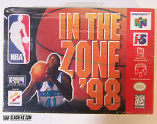 NBA: In the Zone '98 (Nintendo 64) FACTORY SEALED!!!