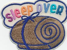 Girl Boy Cub SLEEPOVER bedroll Fun Patches Crests Badges SCOUT GUIDE sleep over