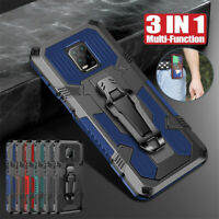 For Xiaomi Redmi Note 9S 8 Pro 9A Shockproof Rugged Armor Hard Stand Cover Case