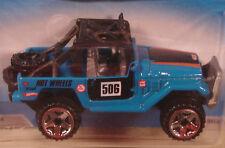Hot Wheels Toyota Land Cruiser FJ40 blue 2010 #41