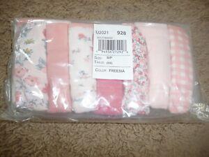 New NWT Childrens Place Girls Size 5/6 7 pack bikini underwear pretty florals