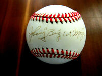 JOHNNY MIZE BIG CAT CARDINALS YANKEES HOF SIGNED AUTO VINTAGE ONL BASEBALL JSA