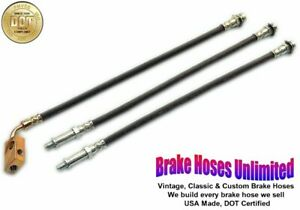 BRAKE HOSE SET Plymouth Gran Fury 1975 1976 1977