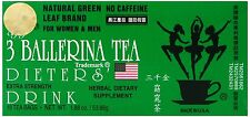 1 CARTON ( 36 BOX x 18 TEA BAG = 648 ) 3 BALLERINA HERBAL TEA EXTRA STRENGTH