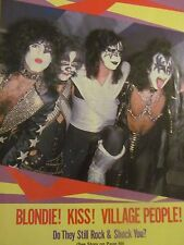 Kiss, 1970's, Full Page Vintage Pinup