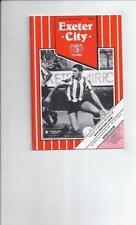 Away Teams S-Z Wrexham Fourth Division Football Programmes