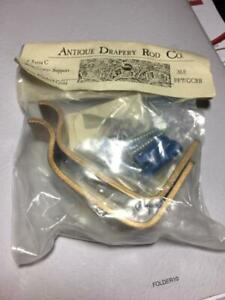 Antique Drapery Rod Co. Center Supports Brackets