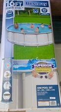 Bestway Power Steel 14 ft x 48 inch Swimming Pool Set