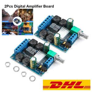 2 x TPA3116D2 2x 50W Digital Audio Zweikanalig Amplifier Verstärker Modul Board