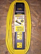 (K) POWER SENTRY Powerstrip W/cord Management 15ft Cord (yellow) 510