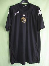 Maillot rugby USC Carcassonne Jersey Noir shirt Kappa Vintage - XXL