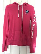 Abercrombie & Fitch New York PINK Kangaroo Pullover HOODIE A&F Hooded SWEATSHIRT