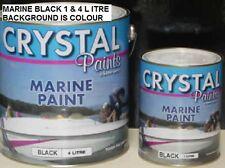 MARINE PAINT 1 X 4 LITRE BLACK 1 X 4 LITRE PLYWOOD AND TIMBER SEALER DELIVERED