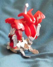 BAKUGAN Mechtanium Surge Red Pyrus BOULDERON 810g w/Real Diecast