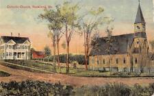 ROCKLAND, ME  Maine           CATHOLIC CHURCH             c1910's Postcard