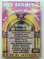 Age Tendre, La Tournée des Idoles - La Magie des Années 60 DVD NEUF SOUS BLISTER