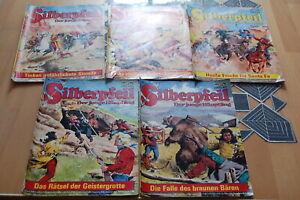 5 x Silberpfeil Comics, Nr. 186, 245, 260, 278,    280, Lasso, Bufferlo Bill, ,