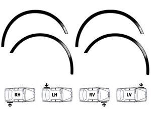 MITSUBISHI GALANT EA0 Limousine Radlauf Zierleisten 4 Stück SCHWARZ Bj 96-06