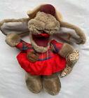 "Vintage Ganzbros Heritage Collection Wrinkles Girl Dog Hand Puppet Toy  9"" 1985"