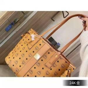 Klassik MCM Damen Umhängetasche Crossbody Hochwertige Handtasche Messenger Bag
