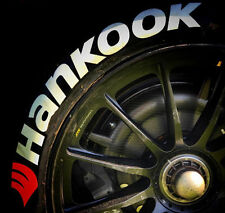 """TIRE STICKERS - HANKOOK - 1.25"""" For 14"""" 15"""" 16"""" Wheels (8 decals)"""
