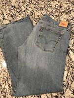 Levi's 524 Too Super Low Women Medium Wash Blue Jeans Size 17M 36x30
