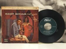 "ROBERT MITCHUM - CALYPSO IS LIKE SO ! PART 1 EP 7"" ITA 1958 CAPITOL EAP 1-853"