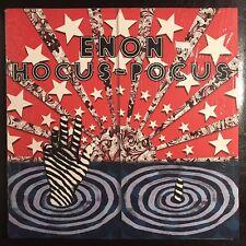 Enon HOCUS-POCUS vinyl LP 1st Press Electronica