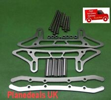 CHASSIS SLED GUARD AXIAL SCX10 HONCHO AND DINGO ROCK CRAWLER SILVER H3